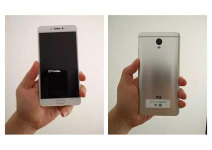 На фотографиях засветился новый смартфон Xiaomi, возможно Redmi Note 4X