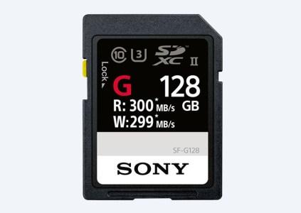 Sony анонсировала карту памяти SD с рекордной скоростью записи 299 МБ/с