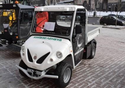 До встречи в киевских парках: «Киевзеленбуд» рассматривает возможность использования грузовых электромобилей Alke ATX 230