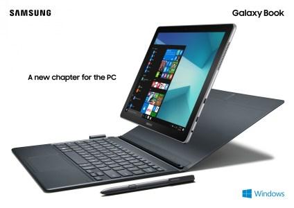 Samsung Galaxy Book 10 и 12 — пара новых Windows 10 планшетов с процессорами Intel Core и комплектными стилусом S Pen и клавиатурой