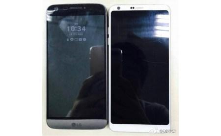 Новый флагманский смартфон LG G6 сфотографировали рядом с предшественником LG G5
