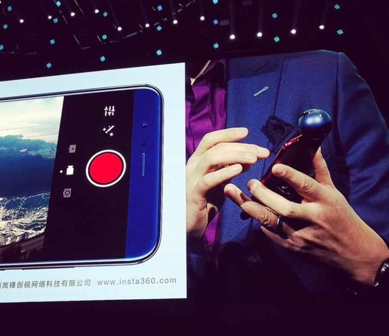 Huawei анонсировала камеру для смартфонов Honor VR Camera, способную записывать видео с охватом 360 градусов