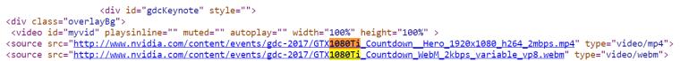 Nvidia запустила обратный отсчет к презентации GTX 1080 Ti