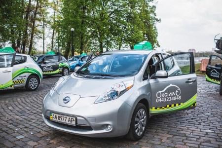 «На очереди ГБО?»: служба электротакси «Окси-Такси» оборудовала все свои электромобили Nissan Leaf дизельными установками для обогрева салона