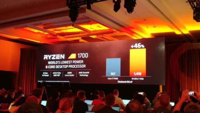 AMD представила три топовых процессора Ryzen 7
