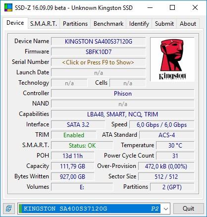 Обзор накопителя Kingston A400 120 ГБ: системный ускоритель за $50