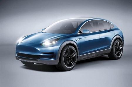 Компактный электрический кроссовер Tesla Model Y анонсируют уже в 2018 году, он будет основан на бюджетной Model 3, но получит распашные двери Model X