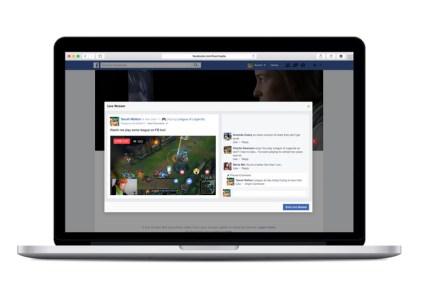 Facebook запустила функцию трансляций в реальном времени для пользователей ПК