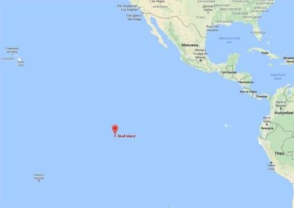 В Google Maps обозначено место расположения Острова Черепа из грядущего фильма «Конг: Остров черепа»