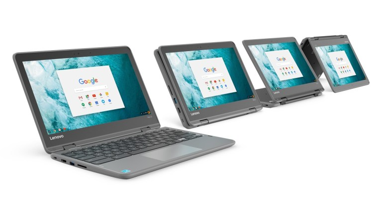 Lenovo Flex 11 Chromebook - 11,6-дюймовый хромбук-трансформер с сенсорным экраном и защищенным от падения и влаги корпусом по цене $279