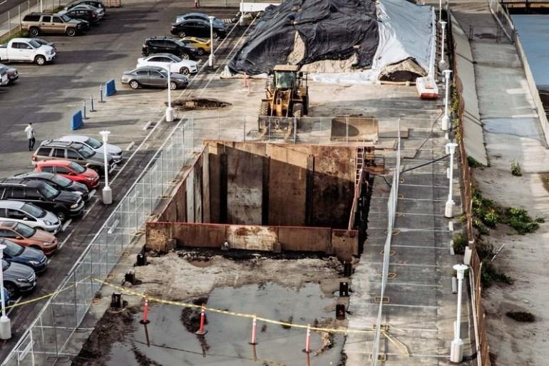 Первое фото бурильной машины The Boring Company Илона Маска, использующейся для строительства тоннеля под Лос-Анджелесом