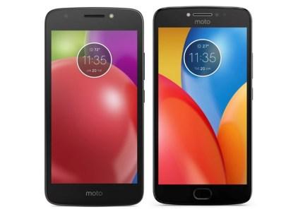 Опубликованы подробные характеристики и цены смартфонов Moto E4 и Moto E4 Plus