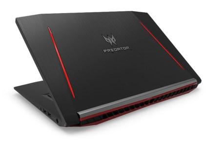 Acer показала игровые ноутбуки и мониторы серии Predator