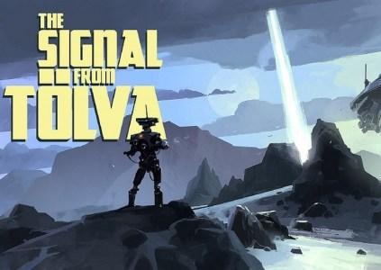 The Signal From Tölva: населена роботами