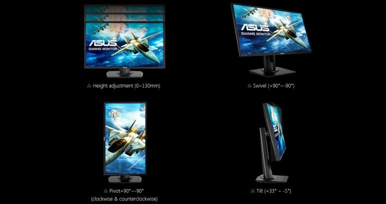 ASUS создала доступный игровой монитор VG245Q с поддержкой FreeSync