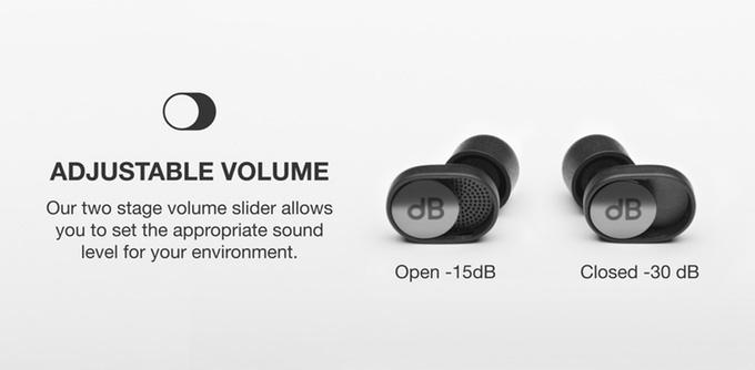 На Kickstarter собирают деньги на беруши dBud с возможностью подстройки звучания