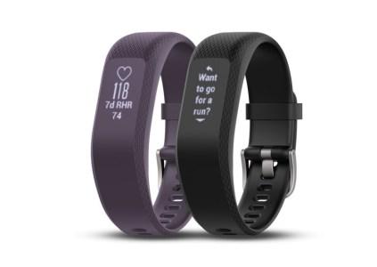 Фитнес-трекер Garmin vivosmart 3 способен отслеживать активность, уровень стресса и показатель VO2 max