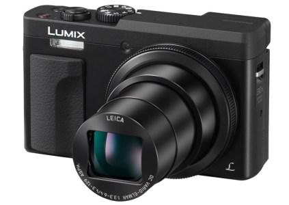 Panasonic анонсировала компактную камеру-суперзум Lumix ZS70 с возможностью удобной съёмки селфи