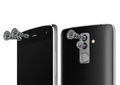 Alcatel Flash — смартфон с четырьмя камерами и десятиядерным процессором