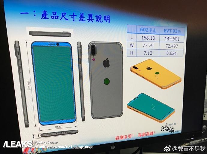 Apple тестирует два финальных прототипа iPhone 8: с симметричной тонкой окантовкой и Touch ID под экраном, а также запасной - со сканером отпечатков на задней панели