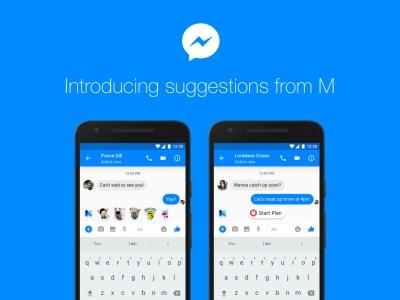 В Facebook Messenger появился виртуальный помощник с искусственным интеллектом M
