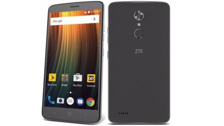 Смартфон ZTE Max XL при цене $130 получил 6-дюймовый экран Full HD, сканер отпечатков пальцев и новейшую ОС Android Nougat 7.1.1