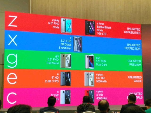 Leak reveals the entire range of Moto smartphones this year, just have to release nine new models