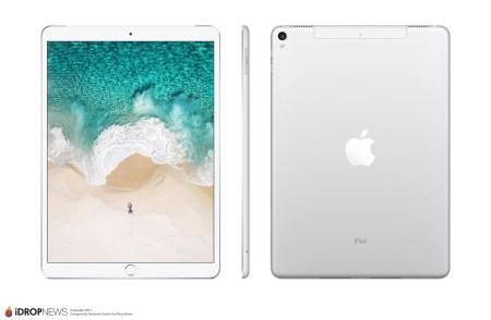 Инсайдер рассекретил внешность нового Apple iPad Pro 10.5, безрамочным планшет не будет