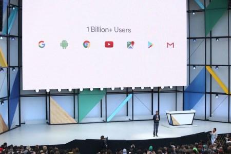 У Android OS уже более 2 млрд активных пользователей, а еще 7 сервисов Google имеют более 1 млрд пользователей каждый