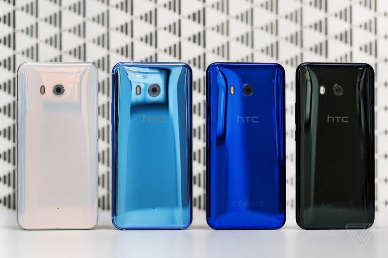 Представлен флагманский смартфон HTC U 11 с чувствительными к нажатиям боковыми гранями