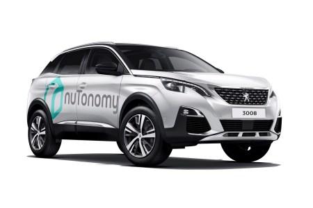 NuTonomy выведет беспилотные кроссоверы Peugeot 3008 на дороги Сингапура, а Samsung — беспилотные Hyundai на дороги Южной Кореи