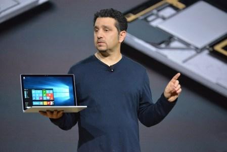 Глава подразделения Microsoft Surface заявляет, что мобильного ПК Surface Pro 5 не существует