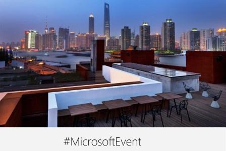 23 мая на специальном мероприятии в Шанхае Microsoft «покажет миру, что дальше»