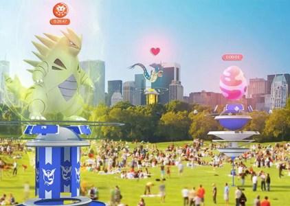 Большое летнее обновление игры Pokémon Go принесёт коллективные рейды на редких боссов и обновлённые залы