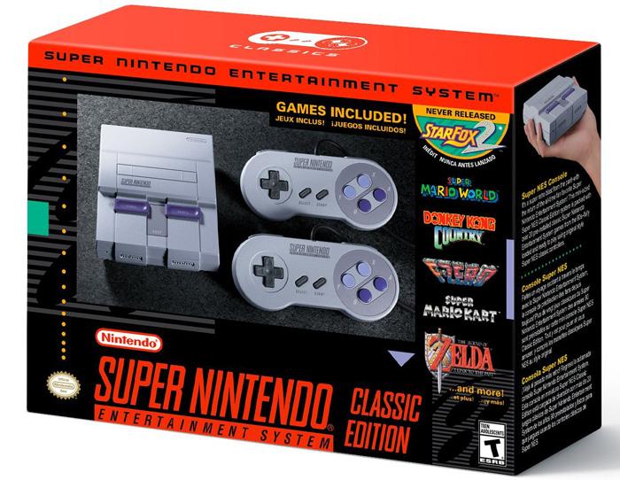 В сентябре Nintendo выпустит консоль Super NES Classic Mini с 21 игрой в комплекте по цене $80
