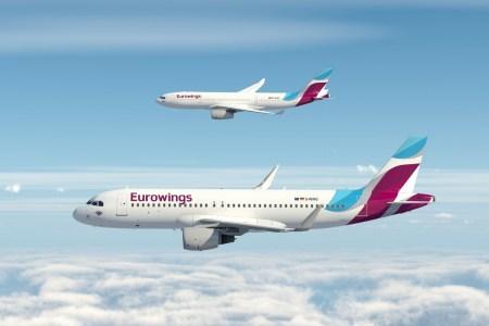 В следующем году в Украину придет немецкий лоукостер Eurowings (Lufthansa), первые самолеты полетят из Киева в Берлин и Дюссельдорф