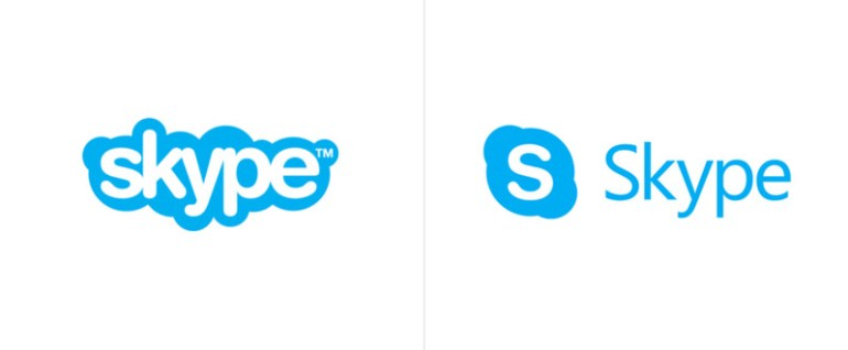 Microsoft представила обновленный логотип Skype, строгий и без «облачка»