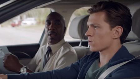 «Человек-паук» Питер Паркер сдает на права в беспилотном Audi A8 «Железного Человека» Тони Старка [видео]