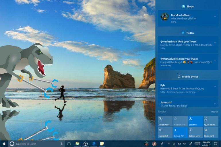 Microsoft внедрила большое количество новшеств в новой тестовой сборке Windows 10