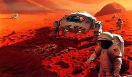 NASA может осуществить пилотируемый полет к Марсу, но у ведомства не хватает денег на высадку