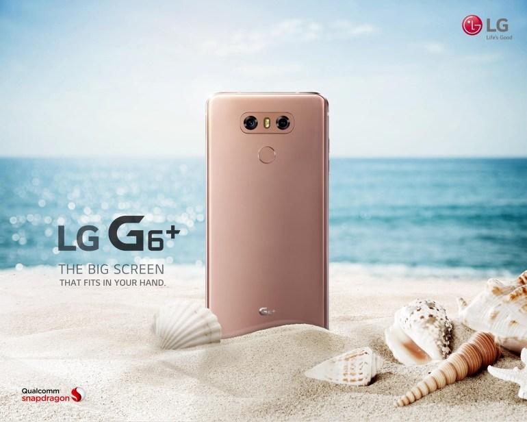 LG опубликовала первое официальное видео премиум-версии своего флагманского смартфона LG G6+