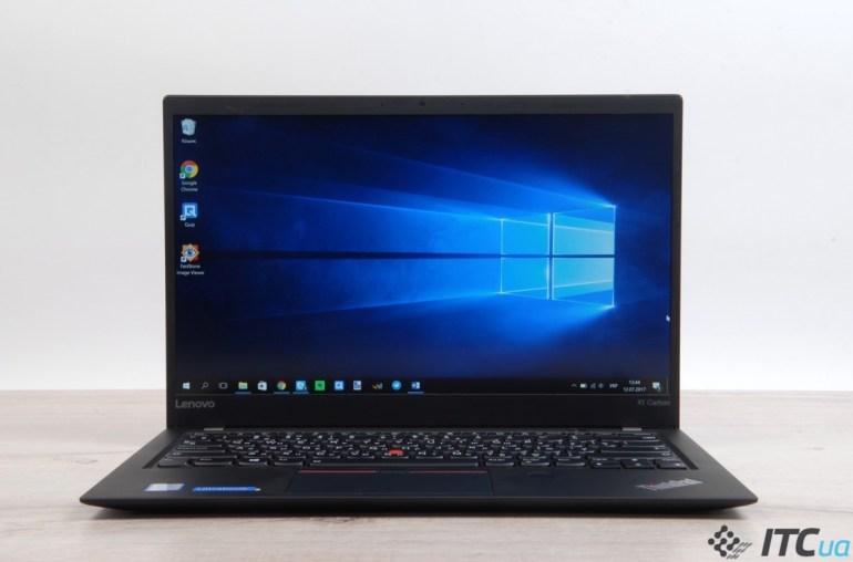 Обзор ноутбука Lenovo ThinkPad X1 Carbon 5th Gen