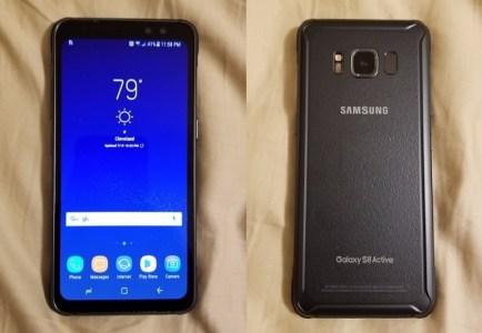 Защищенный смартфон Samsung Galaxy S8 Active получит аккумулятор емкостью 4000 мА∙ч, опубликованы «живые» фото и видео с его участием