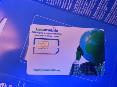 В Украине запустился виртуальный оператор LycaMobile, базовый предоплаченный тариф стоит 130 грн/мес. (300 минут звонков, 16 ГБ интернета и 300 SMS)
