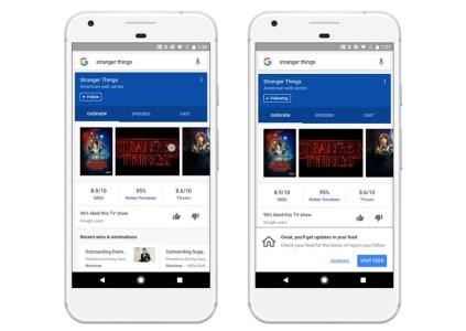 Google добавила персонализированную ленту контента в своё мобильное приложение
