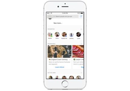 Facebook запускает рекламу в Messenger для пользователей по всему миру