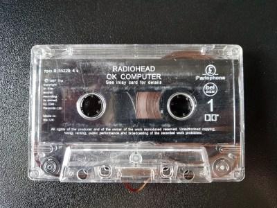 Radiohead спрятали на аудиокассете с переизданием своего альбома пасхалку для ZX Spectrum