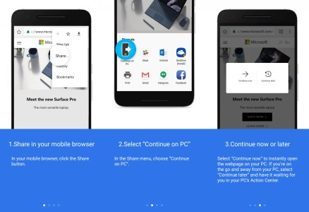 Вышла новая тестовая сборка Windows 10, обеспечивающая возможность сопряжения ПК со смартфоном на Android