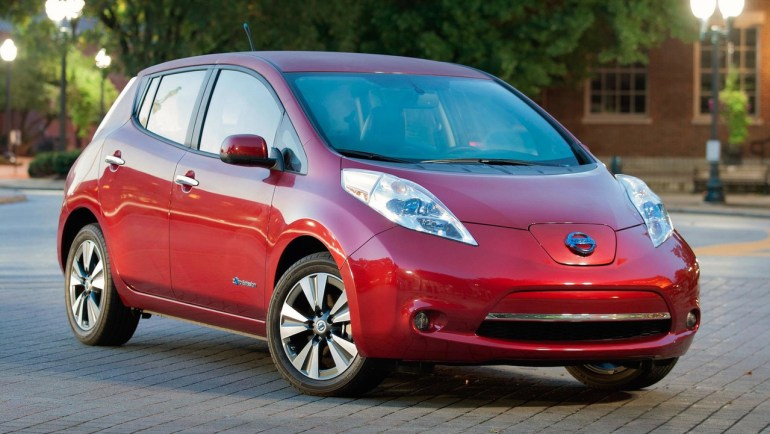 В сети появился качественный рендер нового электромобиля Nissan Leaf 2018