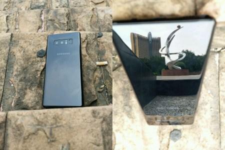 Рекламная брошюра Samsung Galaxy Note8 раскрывает основные особенности смартфона, появились «живые» фото новинки